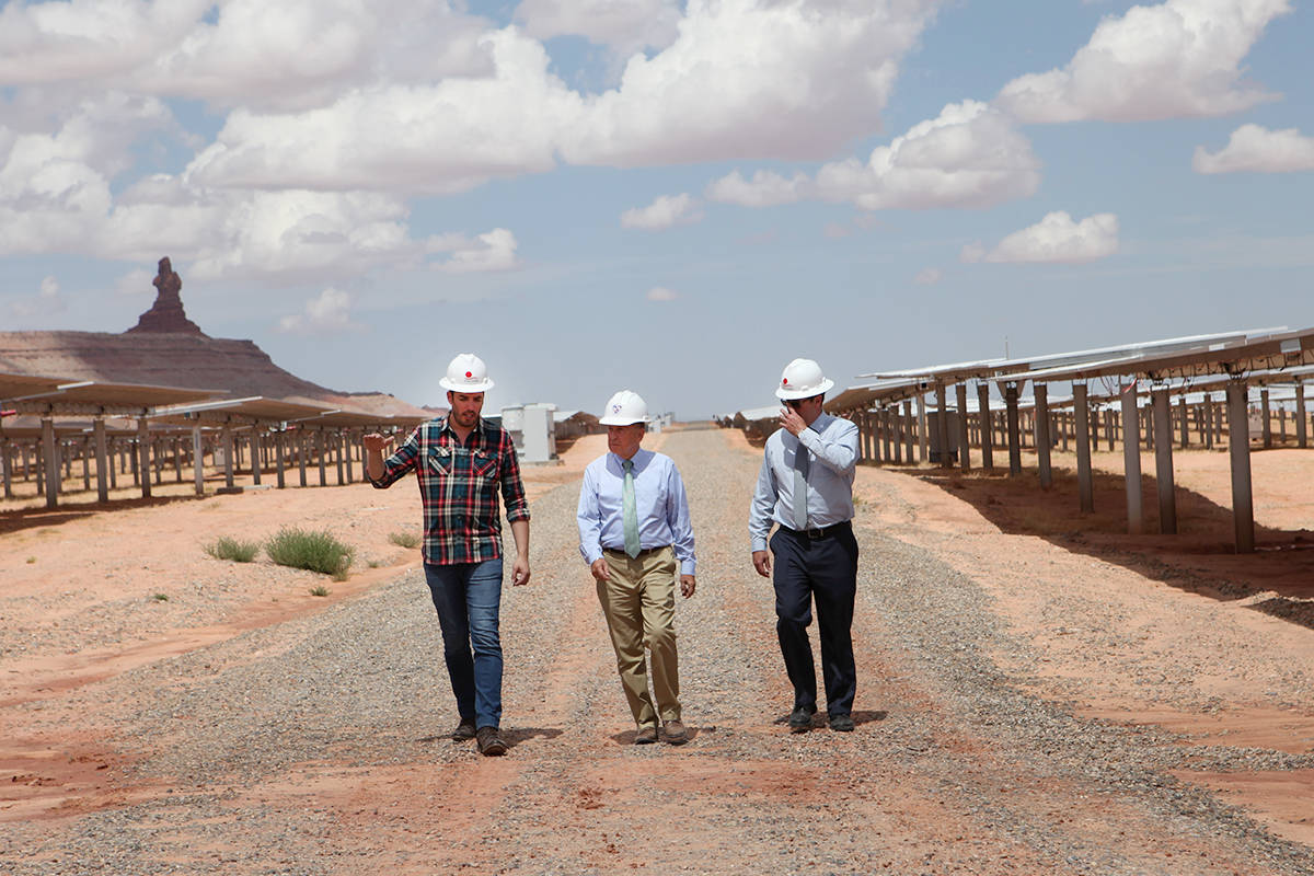 Jonathan Scott travelled across the U.S. for his documentary, to understand why solar power was not more common place everywhere. (PBS/Special to THE NEWS)