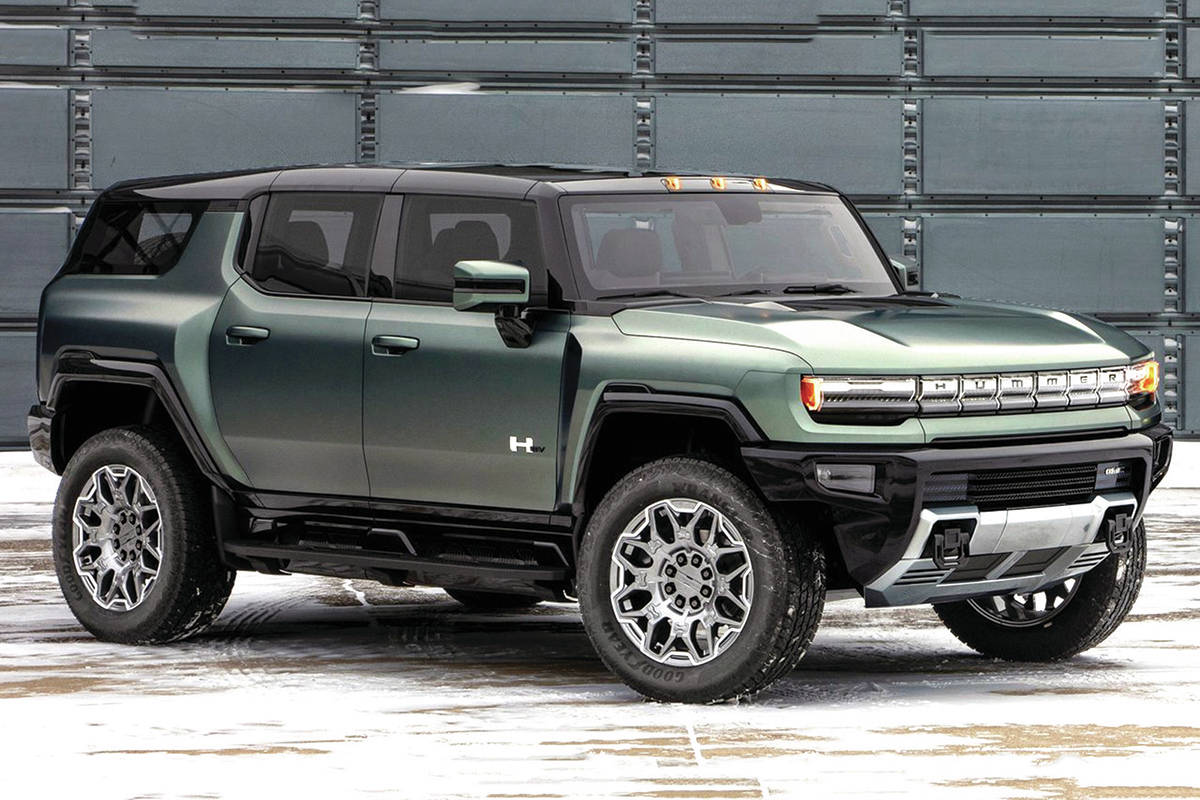 Hummer had already announced an electric pickup and now there's a utility vehicle in the works for spring of 2023. PHOTO: GENERAL MOTORS