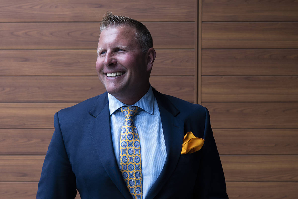 Financial wealth manager Dale Lamb. Photography by Lia Crowe