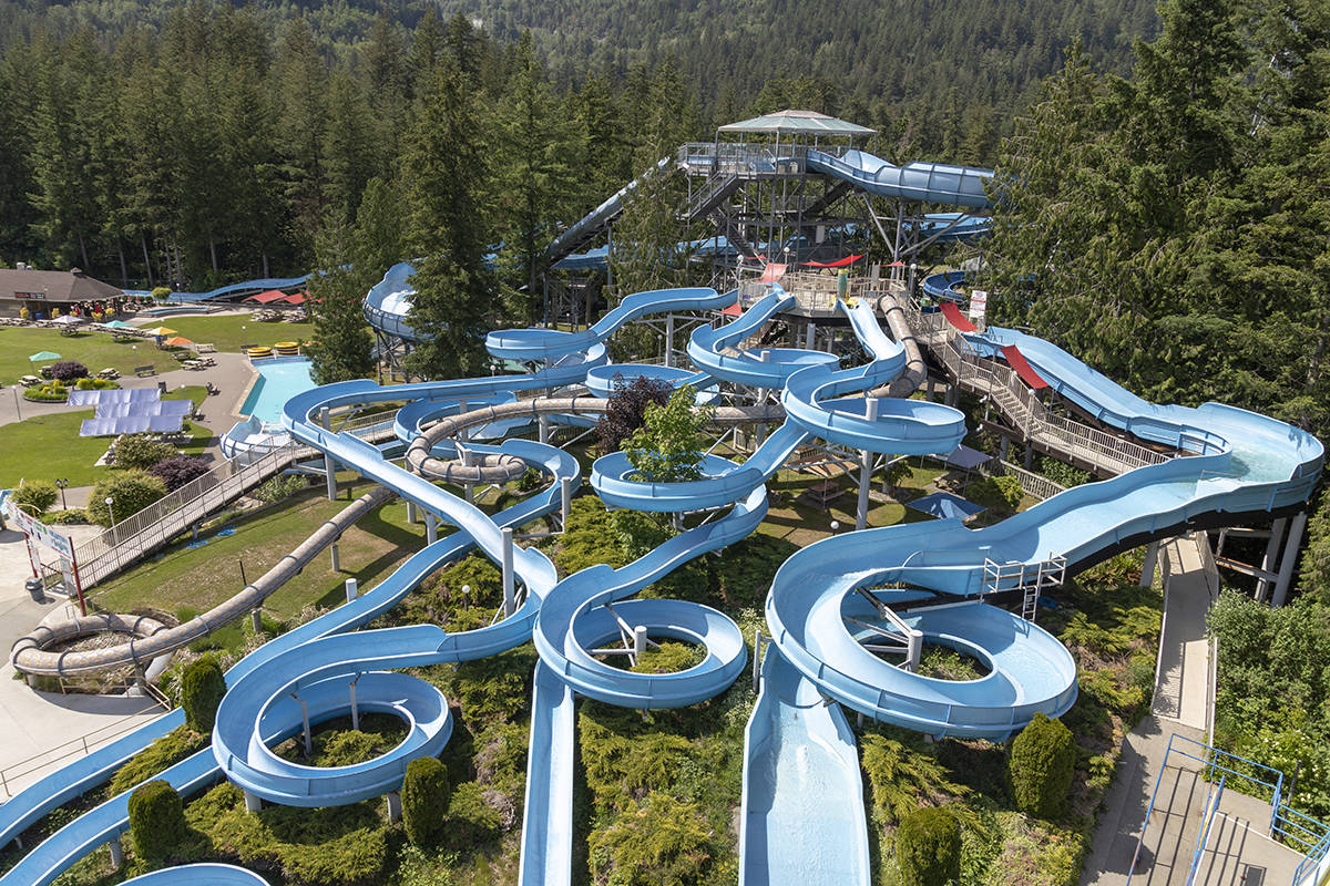 Cultus Lake Water Park is among the attractions receiving COVID-19 recovering funds in B.C. (Black Press files)