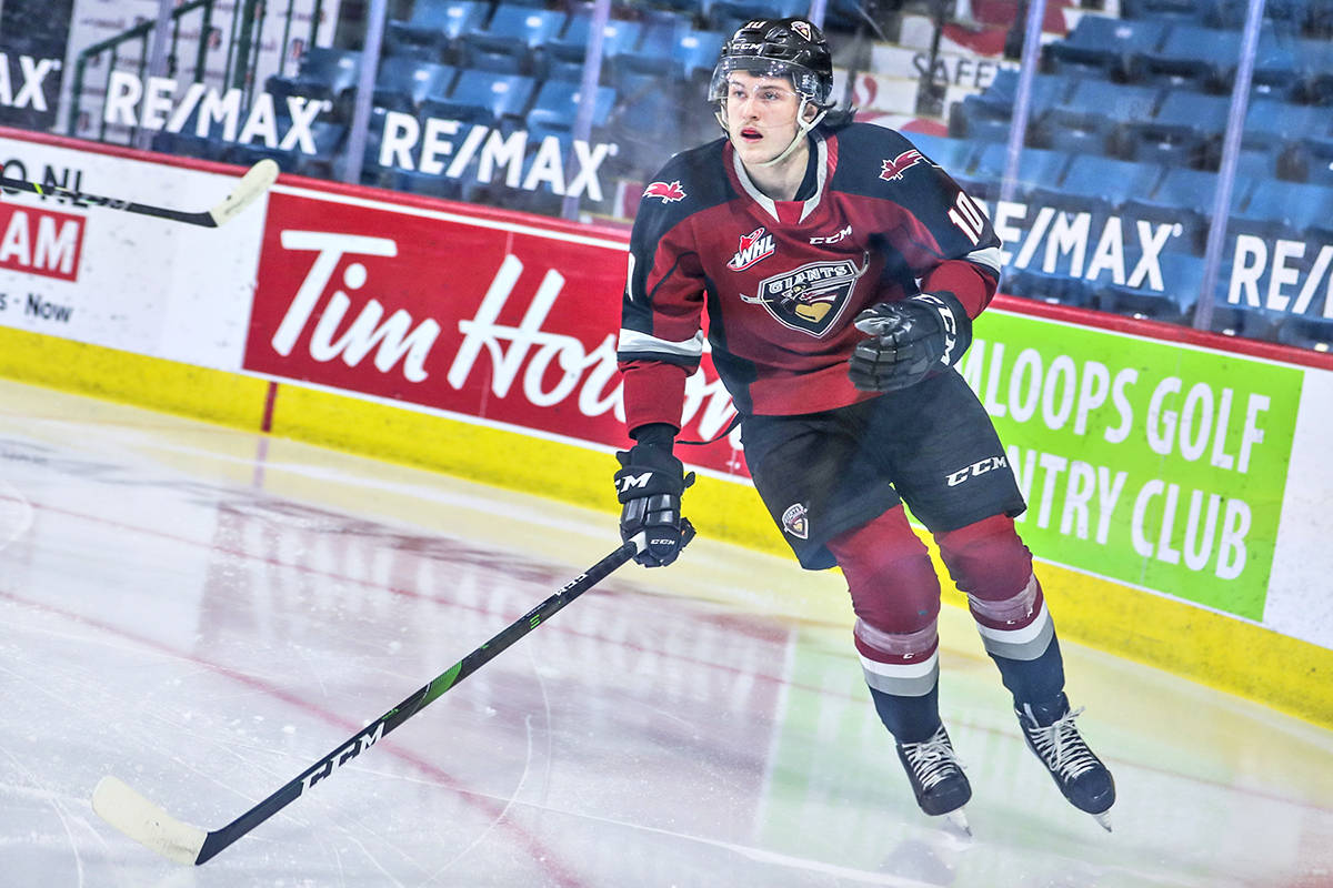 Zack Ostapchuk has become the first ever Giant to be drafted by the Ottawa Senators (file)