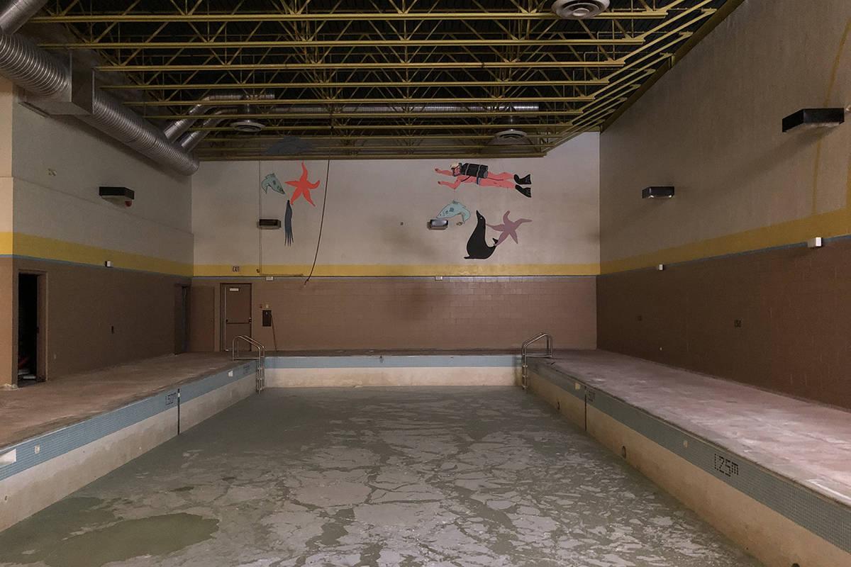 the swimming pool inside the recreational centre. (Binny Paul/Terrace Standard)
