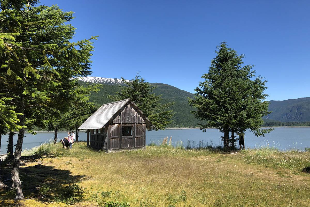 A view from the 'tea shop' hut near the dock. (Binny Paul/Terrace Standard)