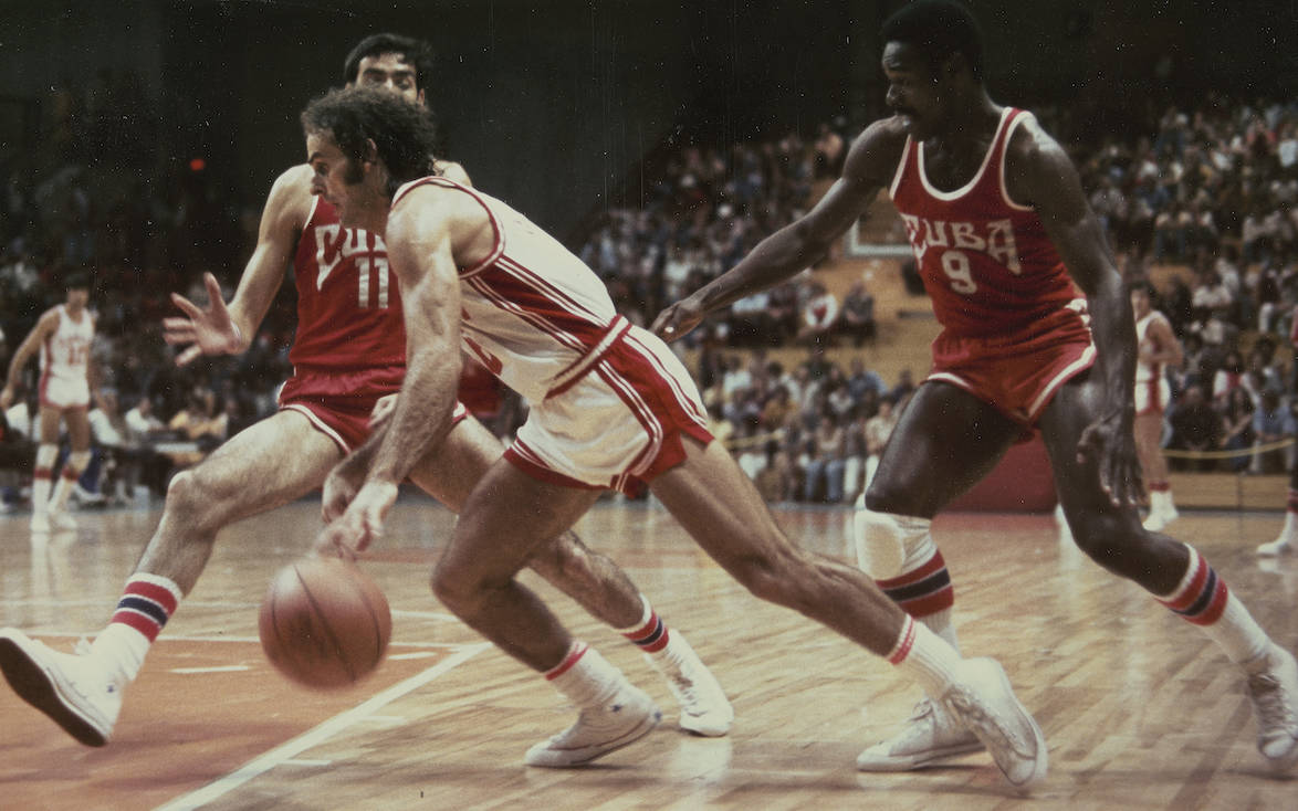 Montreal Summer Olympics 1976: Basketball. THE CANADIAN PRESS/files