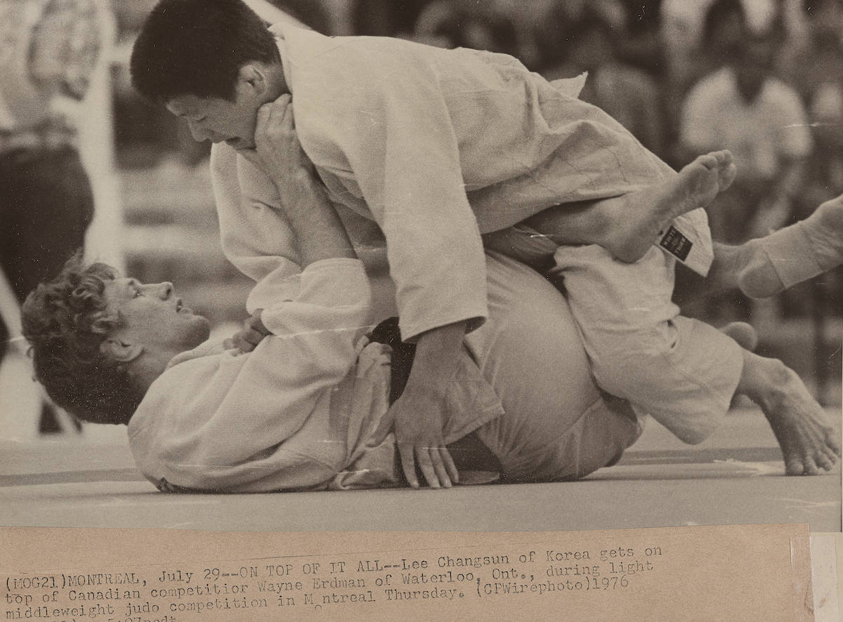 Montreal Summer Olympics 1976: Judo. THE CANADIAN PRESS/files