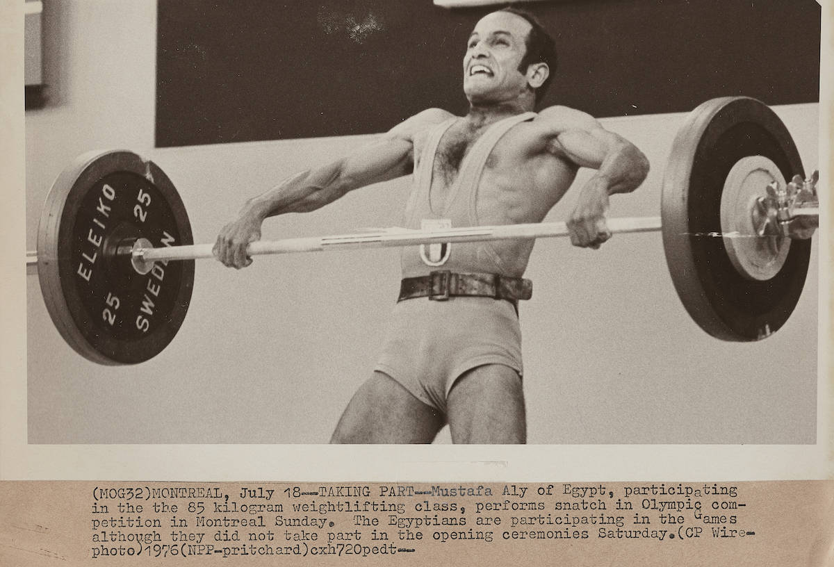 Montreal Summer Olympics 1976: Weightlifting. THE CANADIAN PRESS/files