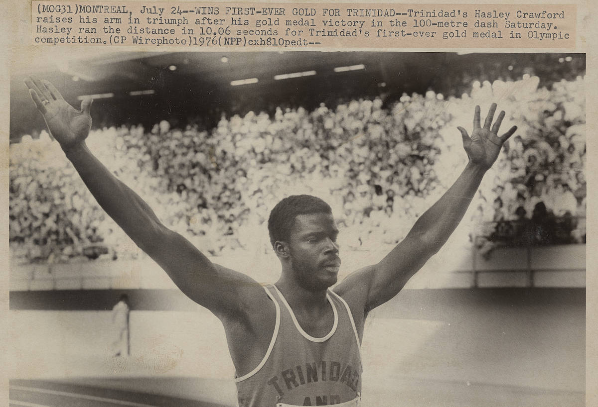 Montreal Summer Olympics 1976: Track and Field, Running, Sprints-800m. THE CANADIAN PRESS/files