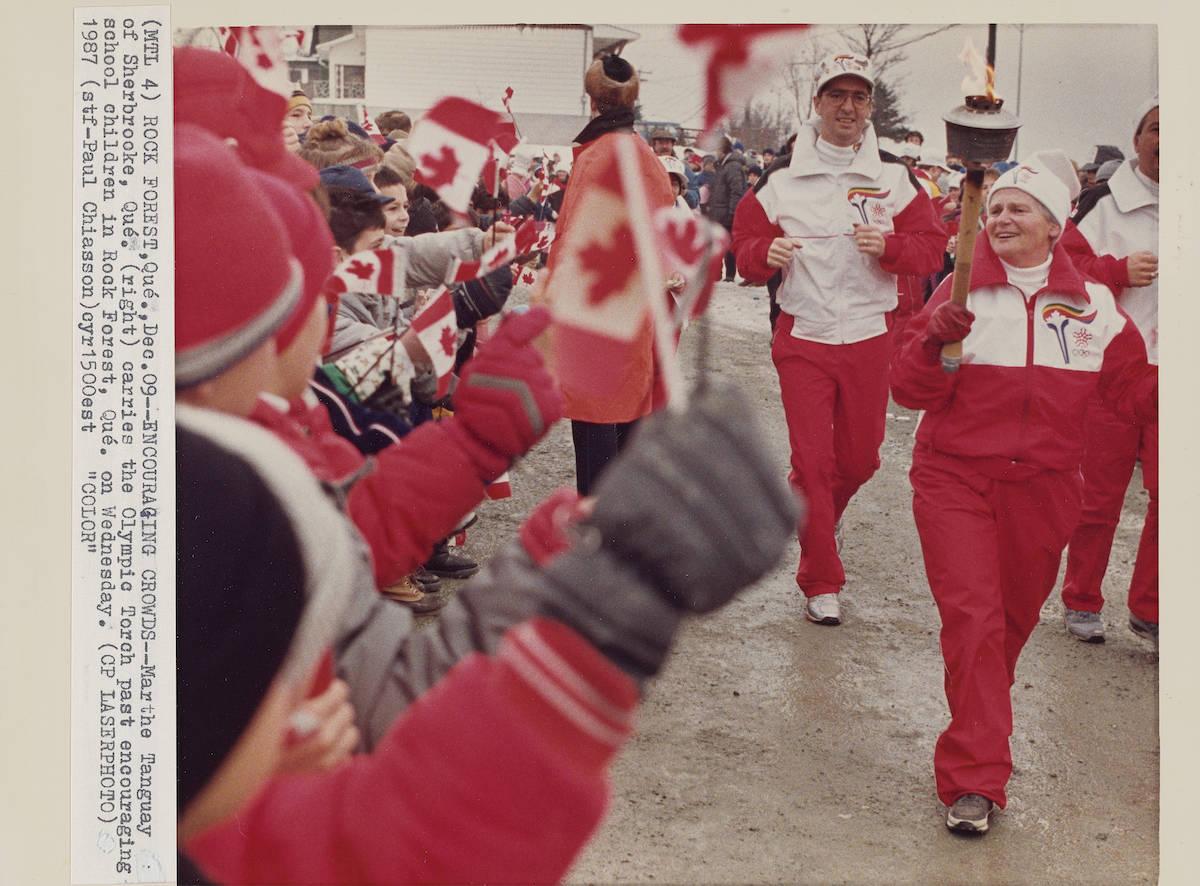 Calgary Winter Olympics 1988: Torch Shots. THE CANADIAN PRESS/files