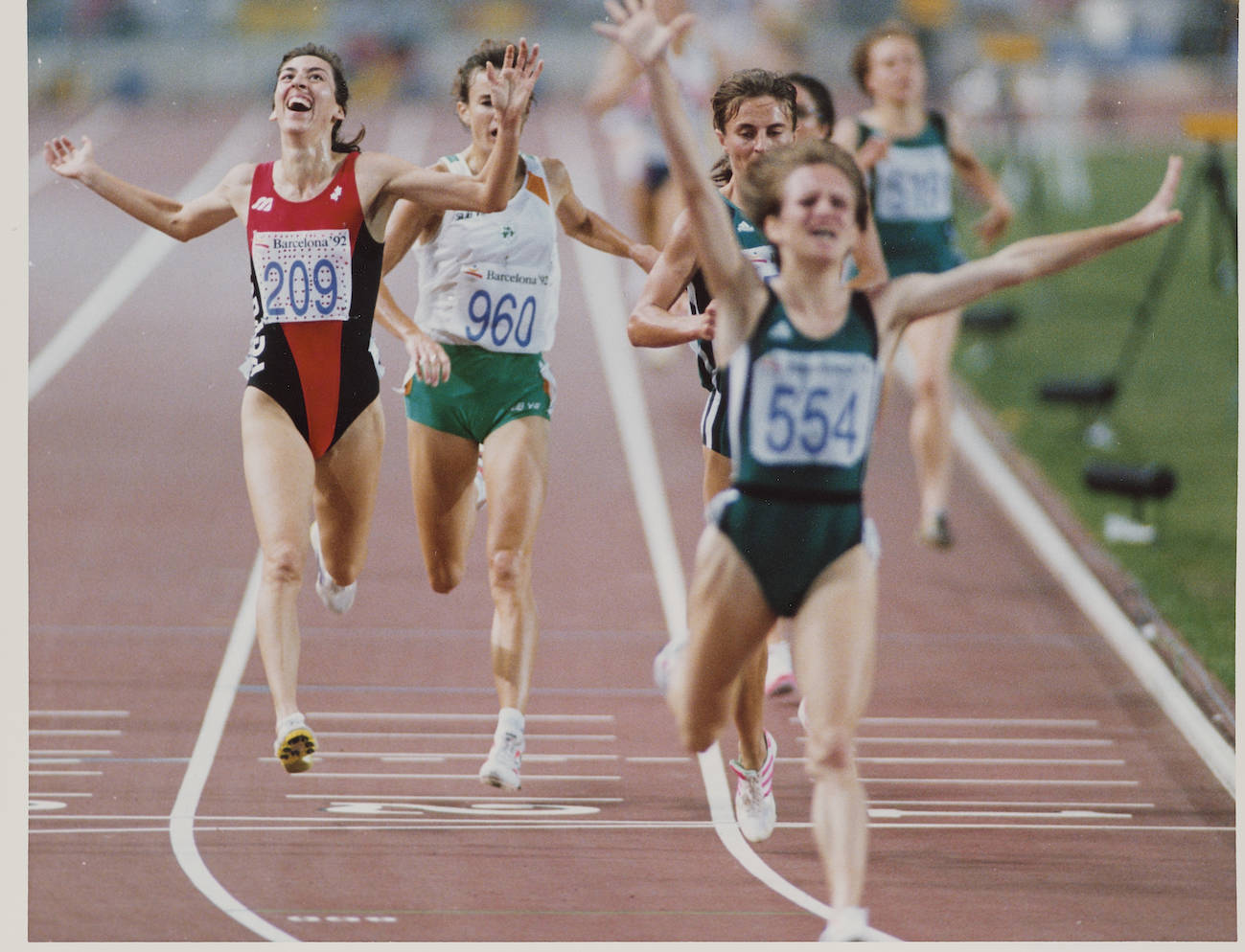Summer Olympics Barcelona 1992: Track and Field. THE CANADIAN PRESS/files