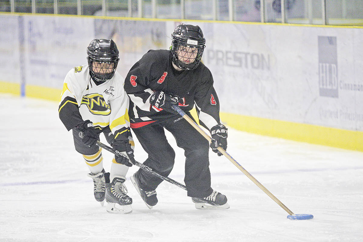 Langley-based Fraser Valley Ringette Association is one of six local sports groups to benefit from provincial grants announcement. (Langley Advance Times file)
