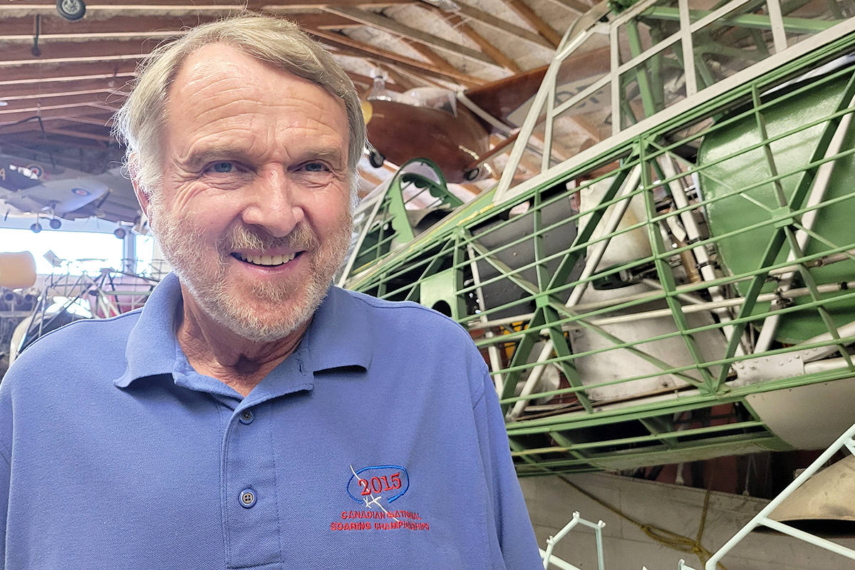 Canadian Museum of Flight president Bruce Friesen said they are still asking visitors to pre-book, a practice that started during the pandemic. (Dan Ferguson/Langley Advance Times)