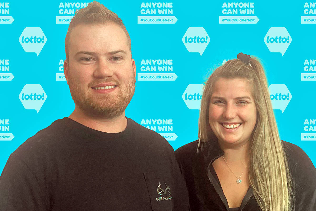 Liam McIver and his fiancée Anita Cremer now have the ability to make some even bigger plans for their wedding next year, after the couple won a $1-million Maxmillions prize in the Lotto Max draw on June 22, 2021. (BCLC)