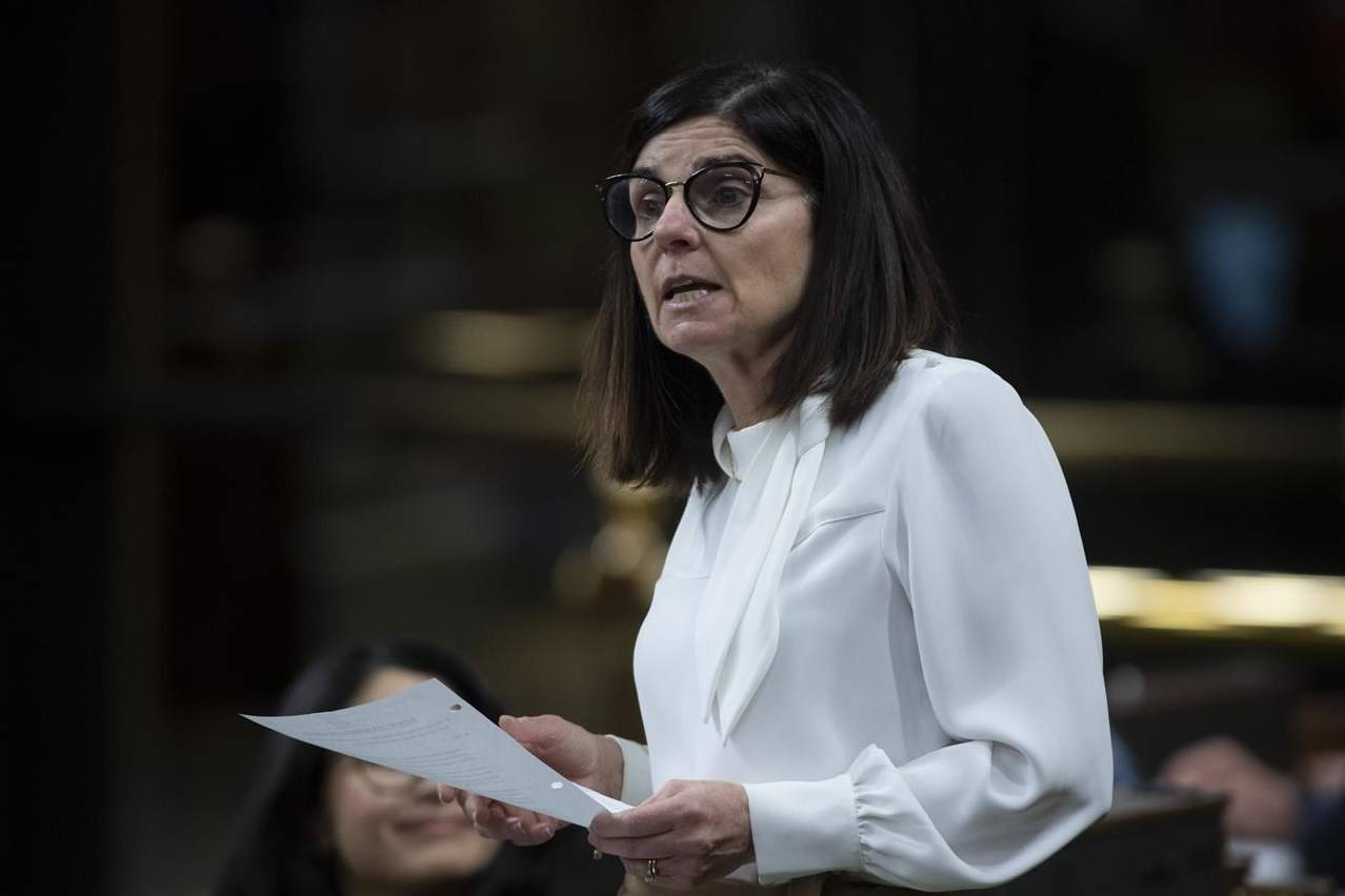 Labour Minister Filomena Tassi responds to a question during Question Period in the House of Commons Thursday December 3, 2020 in Ottawa. THE CANADIAN PRESS/Adrian Wyld