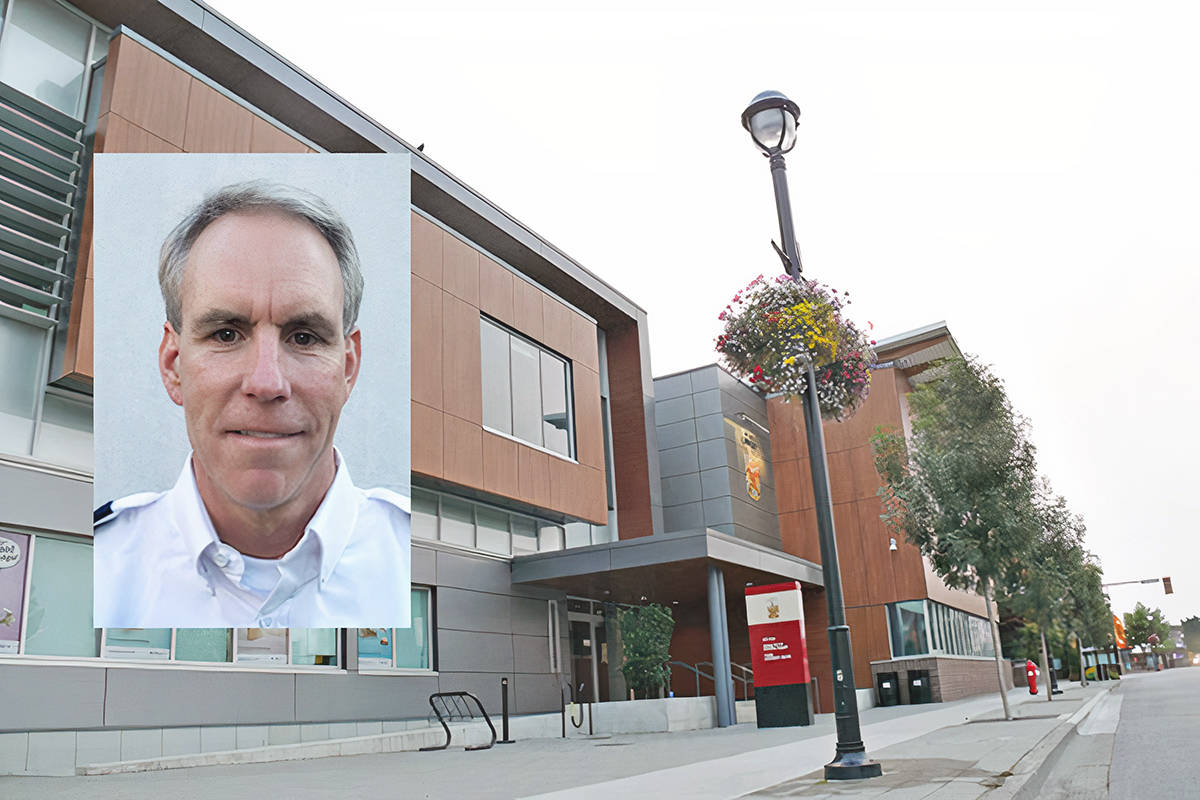 During a briefing for Langley City Council, Supt. Adrian Marsden, the officer in charge, said all officers are fully vaccinated for COVID-19. (Files)