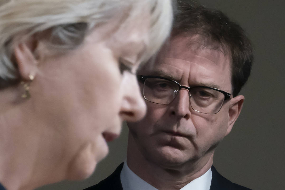 Health Minister Adrian Dix and Dr. Bonnie Henry will be providing an update on COVID-19 in the Interior Health region on Wednesday, July 28. (THE CANADIAN PRESS/Jonathan Hayward)