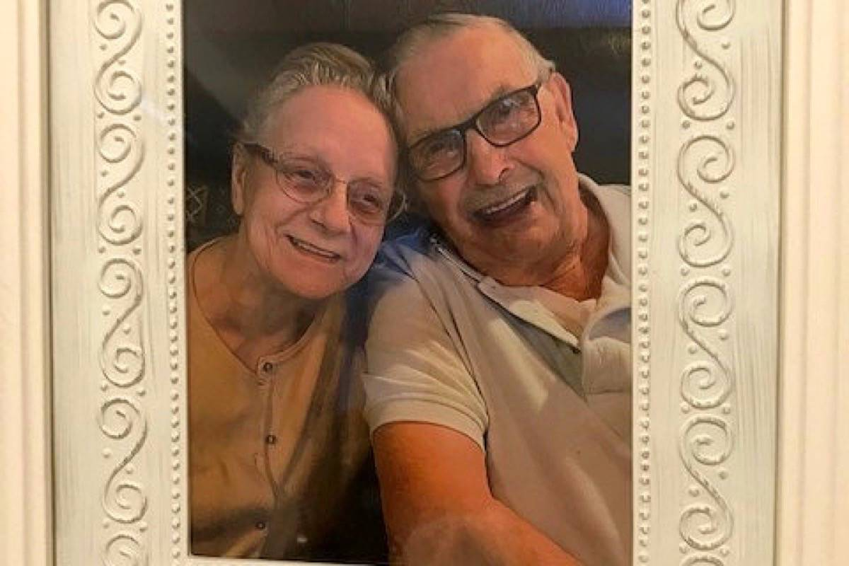 Christine Connon and Dave Wright will be the first couple to wed at White Rock Seniors Village, in a ceremony July 31. (Contributed photo)