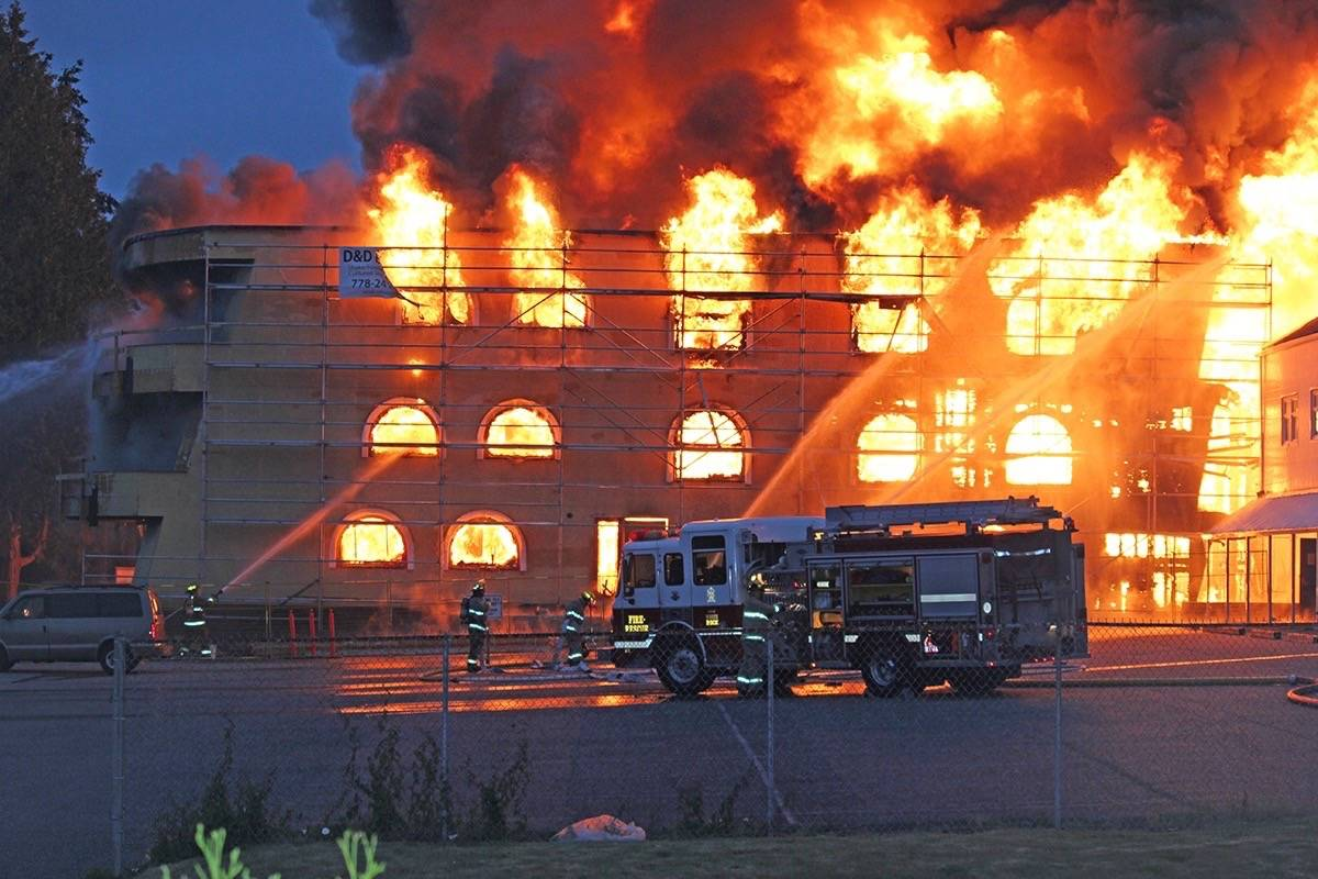 Police on Friday (July 30, 2021) issued an update on the May 2016 Five Corners fire investigation. (Teresa Frederick photo)