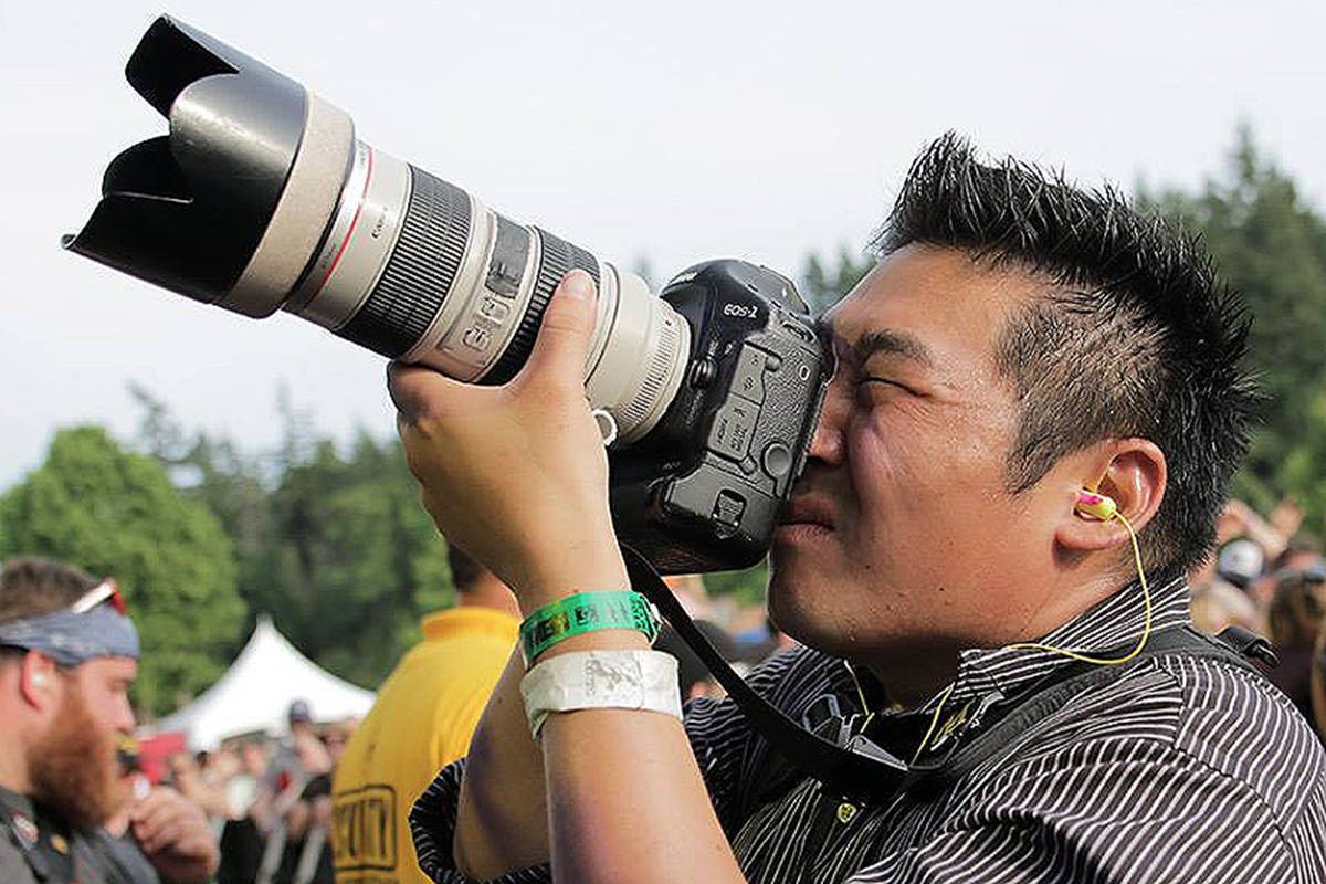 Black Press photojournalist Arnold Lim. (Submitted photo)