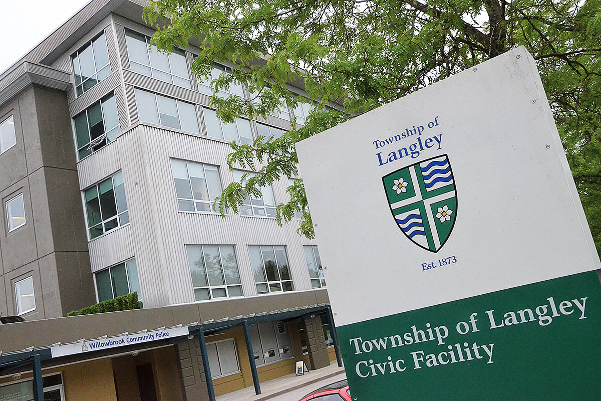 The Township of Langley Civic Facility. (Matthew Claxton/Langley Advance Times)