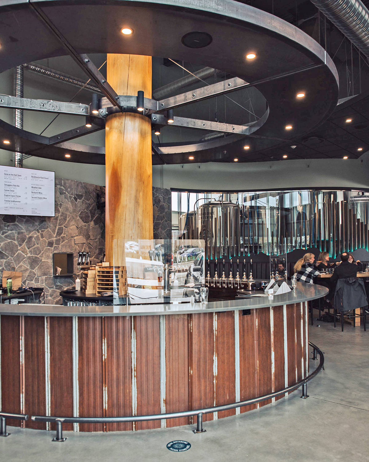 This is one of the coolest taprooms in the world, as selected by the 2021 Craft Beer Marketing Awards. It's in Langley, at the Smugglers' Trail Caskworks in Walnut Grove. (Special to Langley Advance Times)