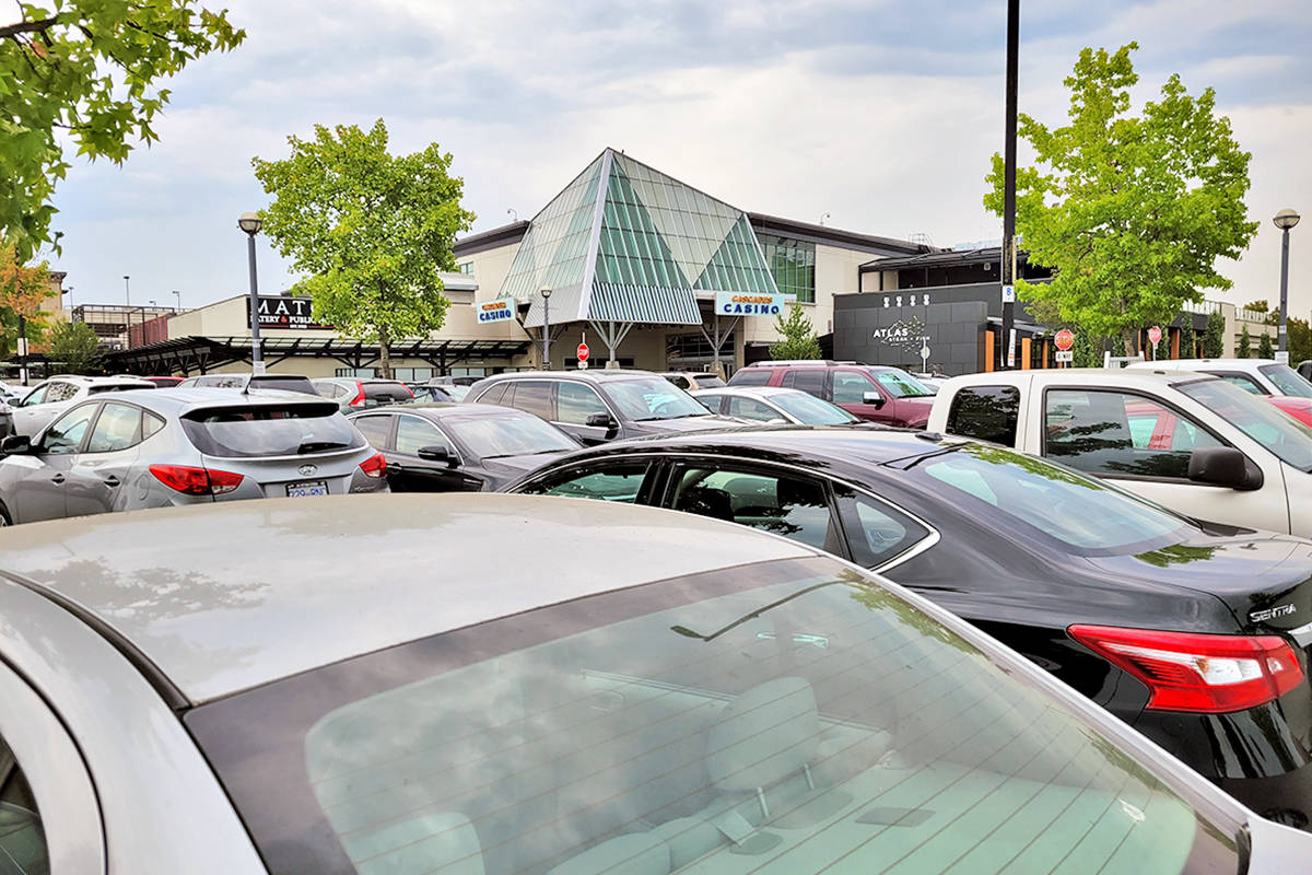 Business is a lot closer to normal at Cascades Casino in Langley City, seen here on July 31 (Dan Ferguson/Langley Advance Times)