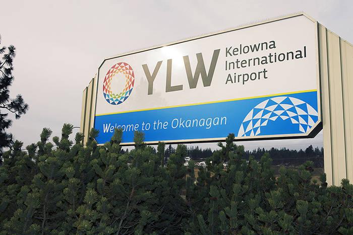Kelowna International Airport. (File)