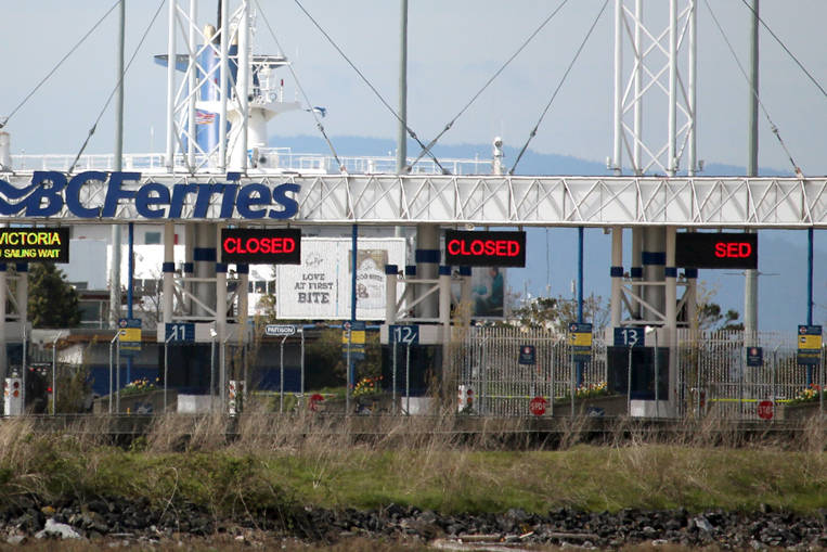The B.C. Ferries terminal at Tsawwassen. (Black Press file photo)