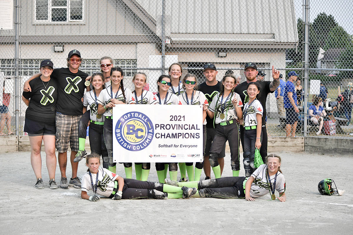 Langley Xtreme 2009 won the U12B Provincials in Richmond, going undefeated through all eight games played. (Special to Langley Advance Times)