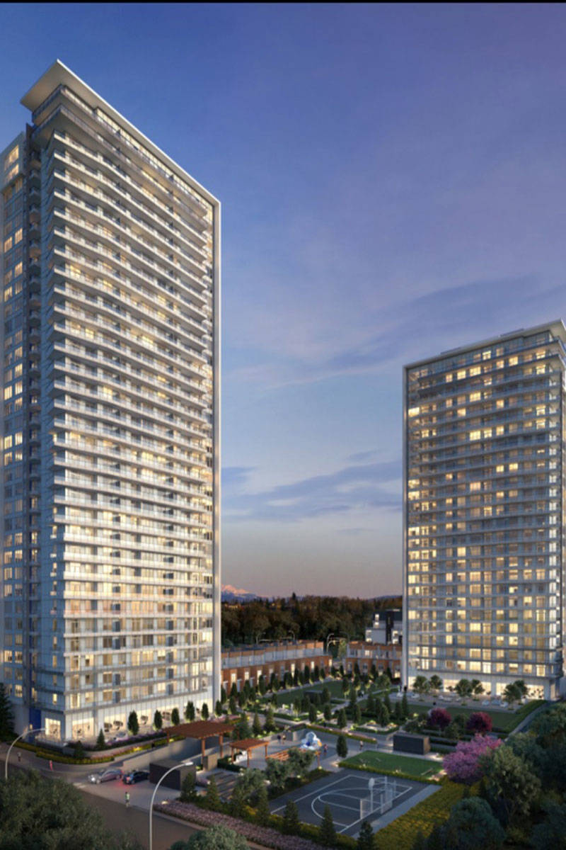Two residential towers are planned for the Latimer Heights development in Willoughby. (Vesta Properties)
