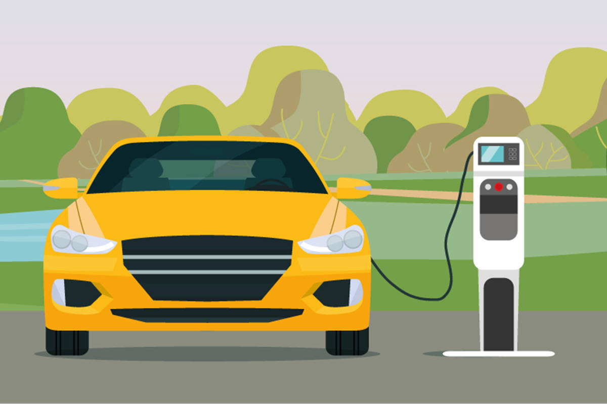 Langley is getting a new electric vehicle charging station. (Natural Resources Canada/Facebook)
