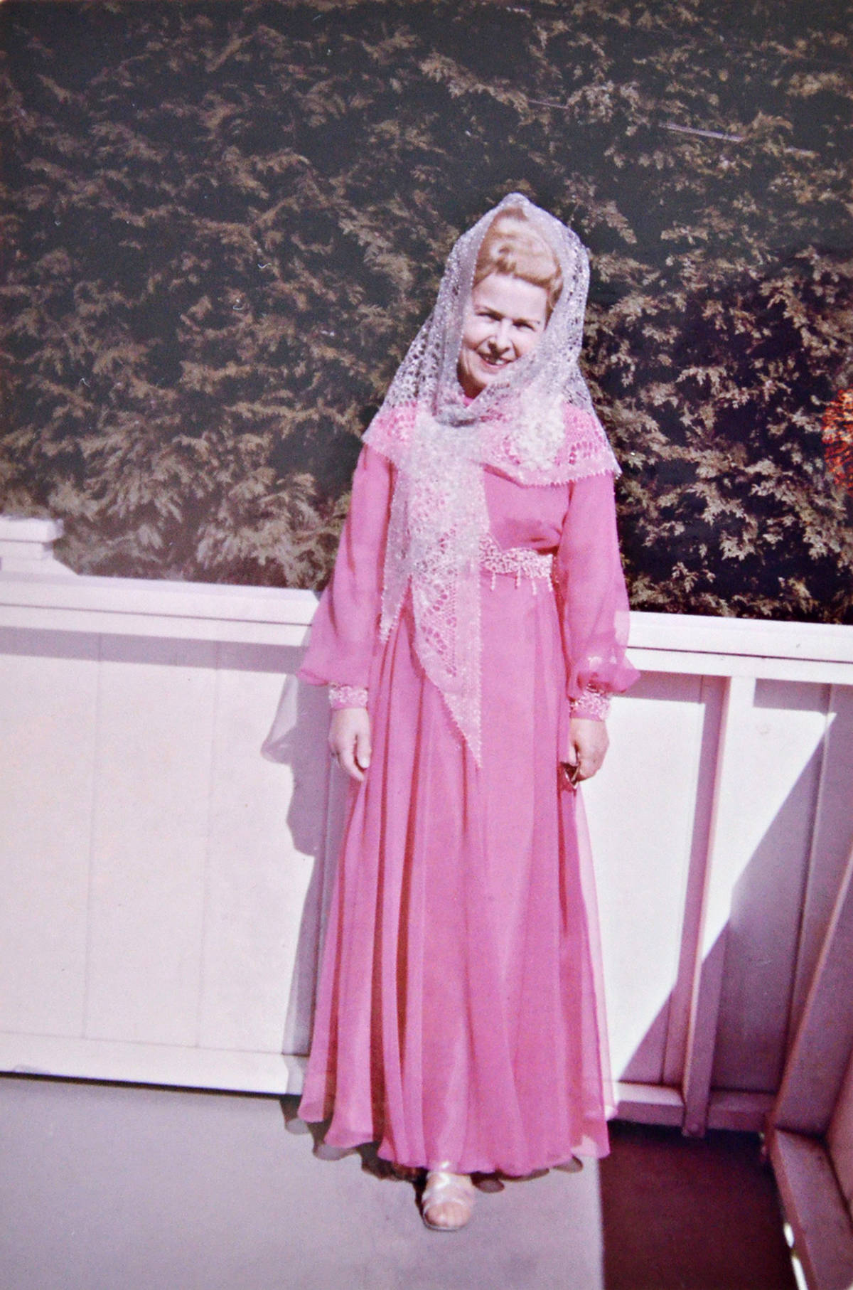 Ivy Philipps on her wedding day in the 1960s. (Family photo/Special to the Langley Advance Times)