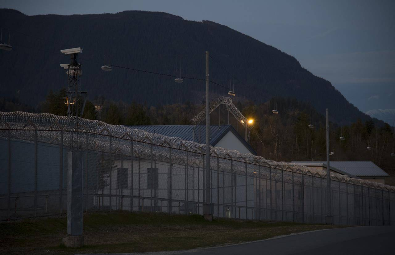 The Mission Correctional Institution in Mission, B.C. pictured Tuesday, April 14, 2020. THE CANADIAN PRESS/Jonathan Hayward.