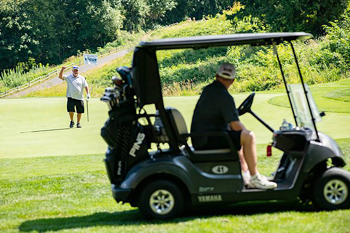 Golfers have supported the Langley Memorial Hospital Foundation through the years att eh annual golf tournament. (Langley Memorial Hospital Foundation file photo)