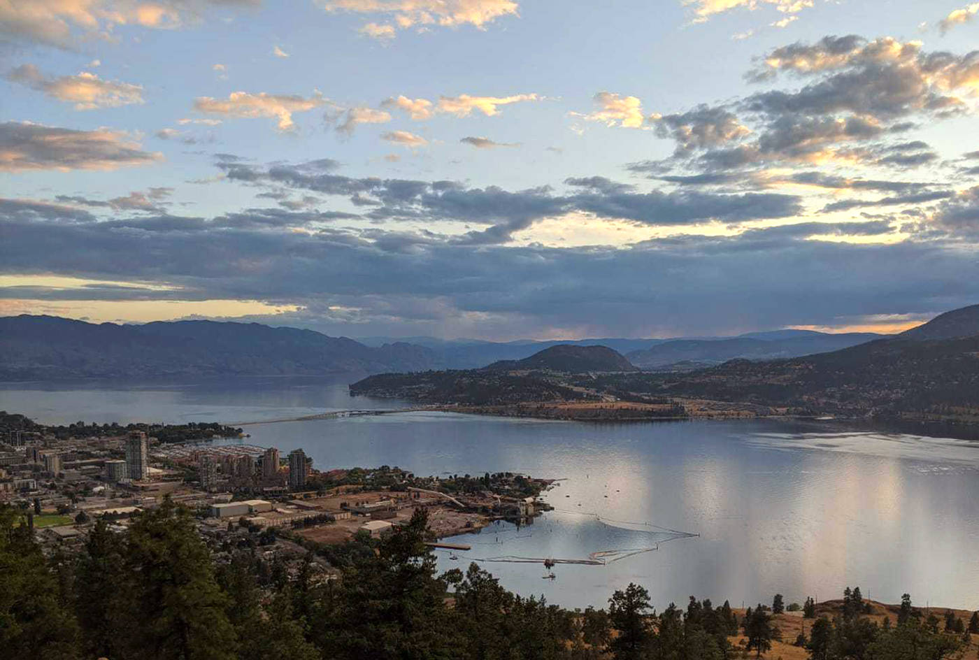 The Central Okanagan seen from the top of Knox Mountain in Kelowna. (Phil McLachlan/Black Press Media file)