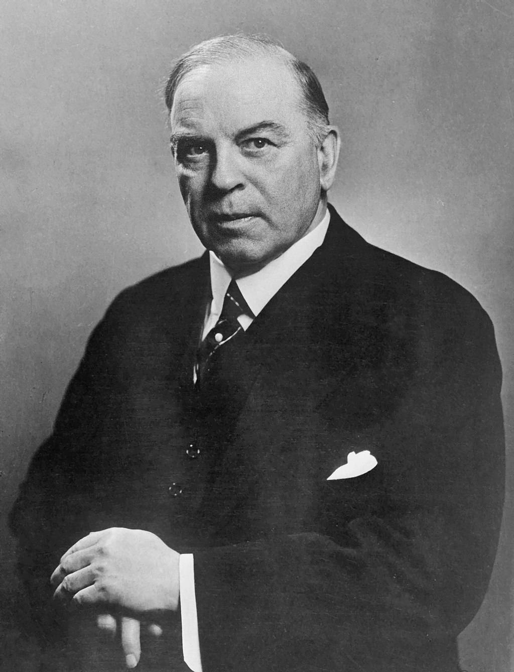 William Lyon Mackenzie King was Canada's longest serving Prime Minister. Which party did he represent? (Wikimedia Commons)