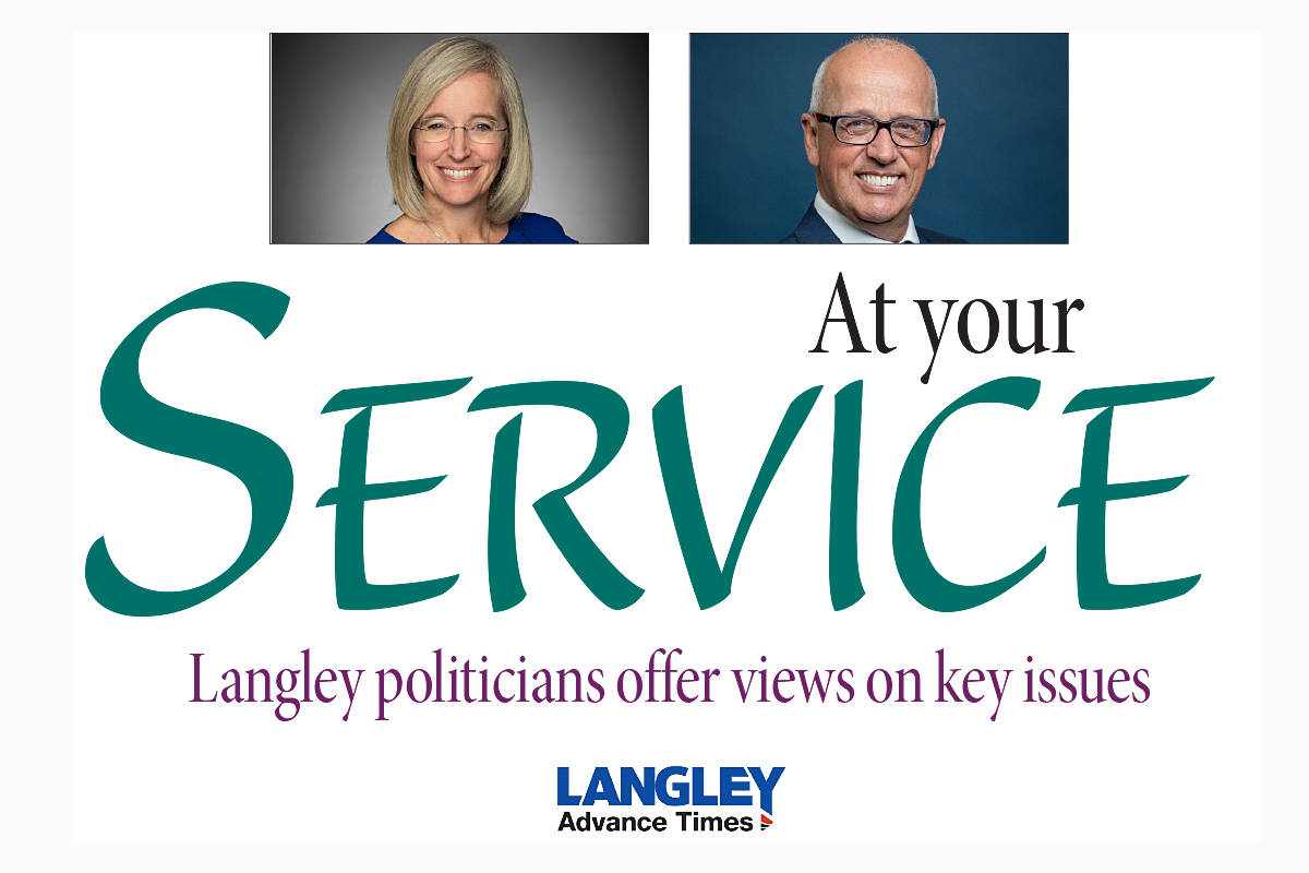 """Do you have a question you'd like to see put to the Langley MPs? Email your idea to <a href=""""mailto:editor@langleyadvancetimes.com"""" target=""""_blank"""">editor@langleyadvancetimes.com.</a>"""