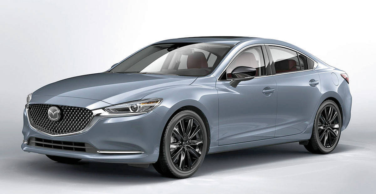 The Mazda6 sedan is on the way out, leaving the Mazda3 as the only car offering in the lineup. PHOTO: MAZDA