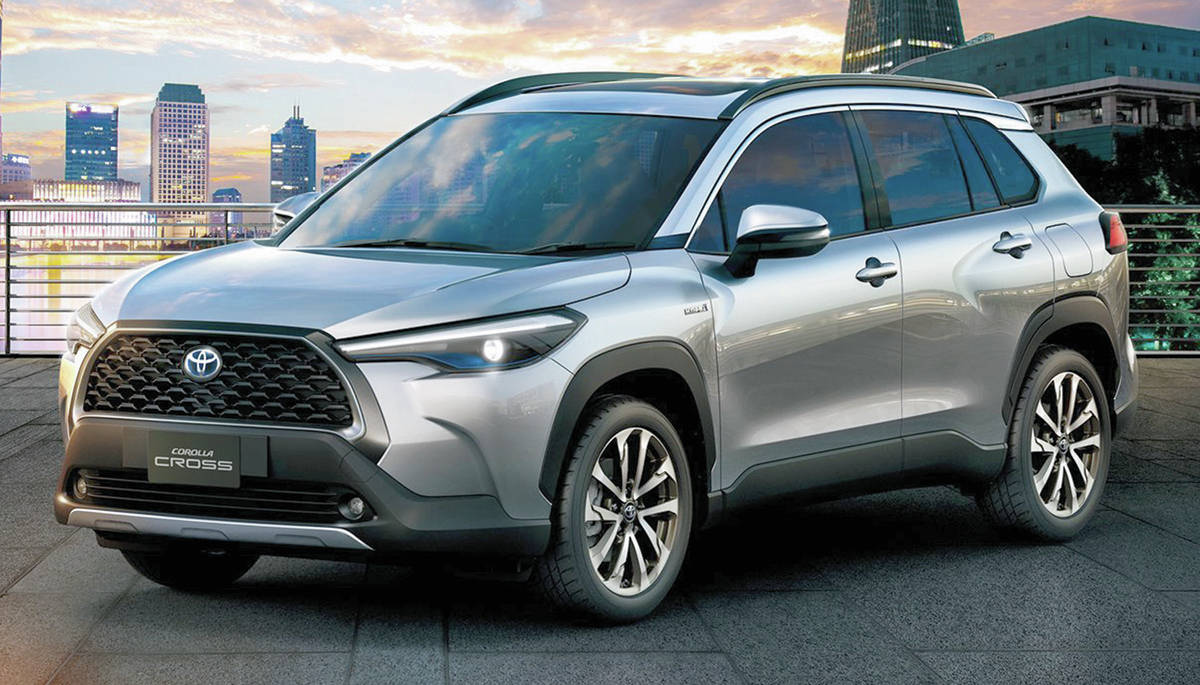 The upcoming Corolla Cross is a small utility vehicle that will likely resemble the version on sale in Asia. PHOTO: TOYOTA