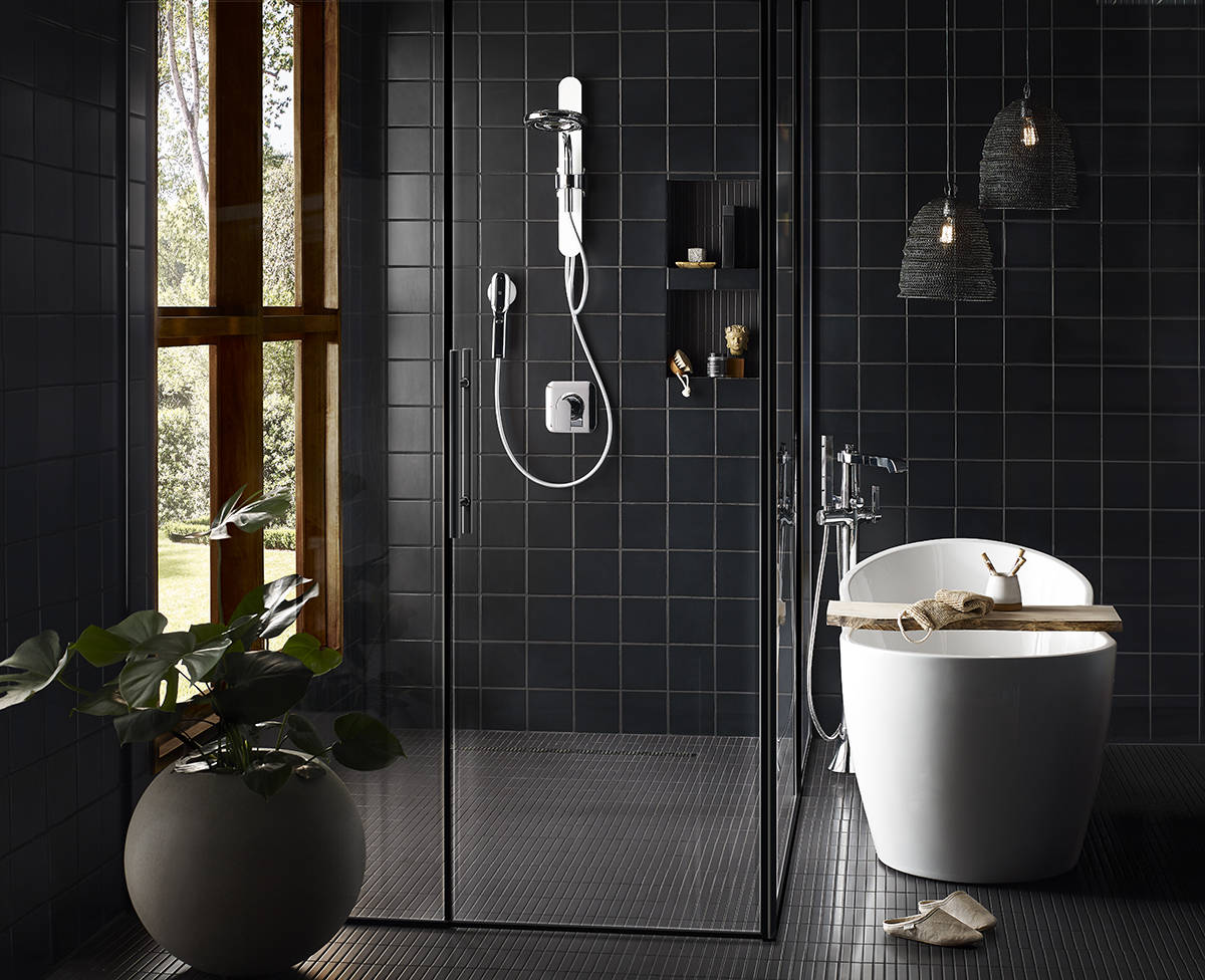 Moen's new Nebia shower system conserves water while providing an exceptional shower experience.