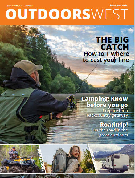 Outdoors West inaugural issue