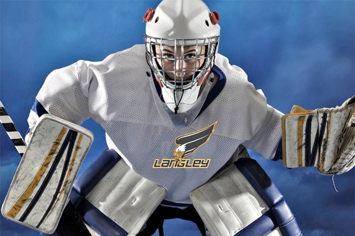 Langley Minor Hockey Association (LMHA) is collecting goalie gear for young players, looking for donations of equipment sized to outfit U11 goaltenders. (LMHA graphic)