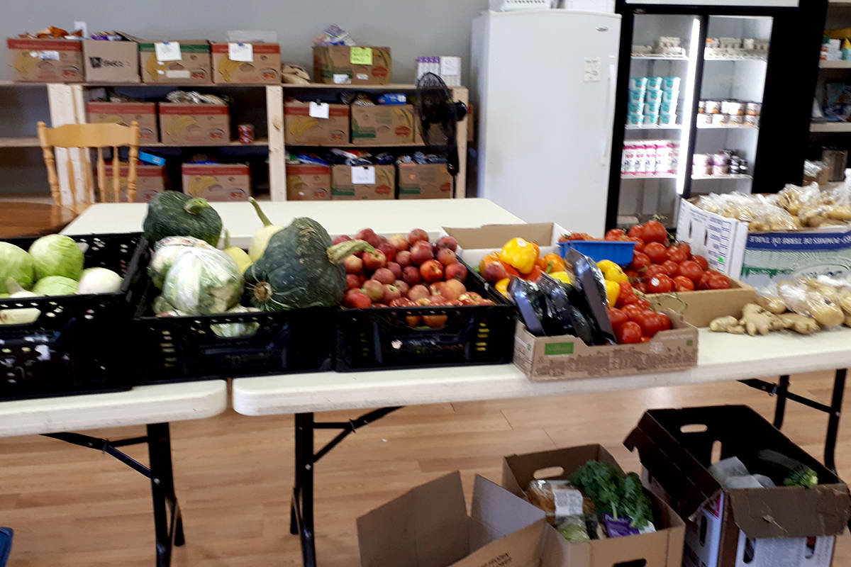 Veggies donated to the Aldergrove Food Bank have so far included reddish small potatoes, curly kale, onions, huge lettuce plants, zucchinis, cucumbers, Swiss chard, broccoli. (Special to The Star)