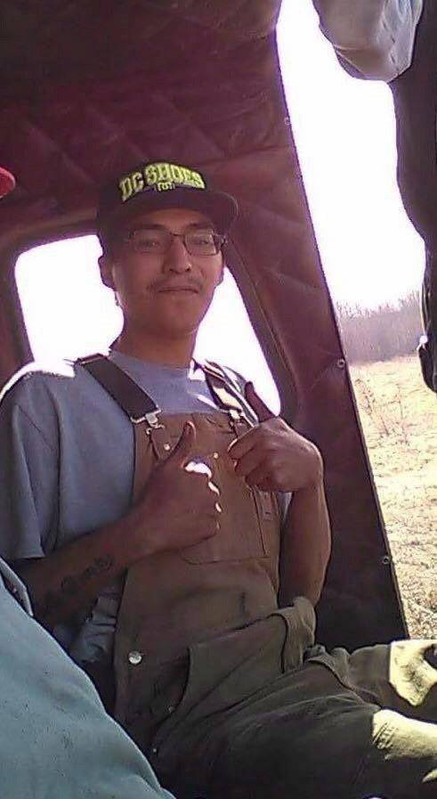Colten Boushie is shown in this undated handout photo. THE CANADIAN PRESS/HO