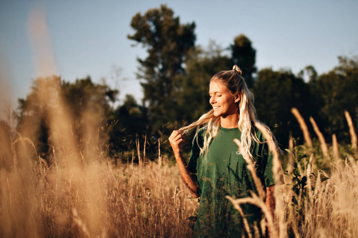 Langley volleyball champion Brie King has always had a musical side, and now she has released an album of original songs, published on all music streaming platforms Friday Aug. 13. (Special to Langley Advance Times)