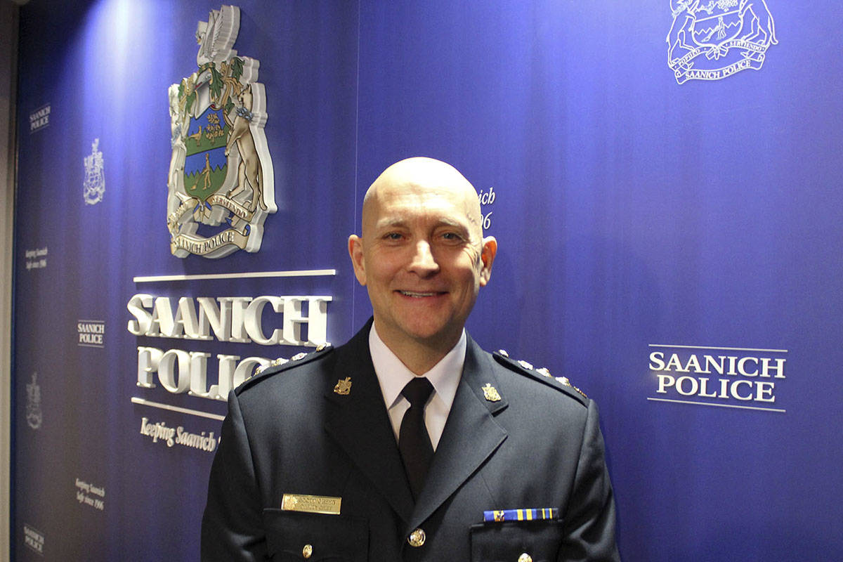 Saanich Police Chief Scott Green and Mayor Fred Haynes issued a statement in response to a Black Press Media article, apologizing for the inadequate treatment a sexual assault survivor received in 2016. (Black Press Media file photo)