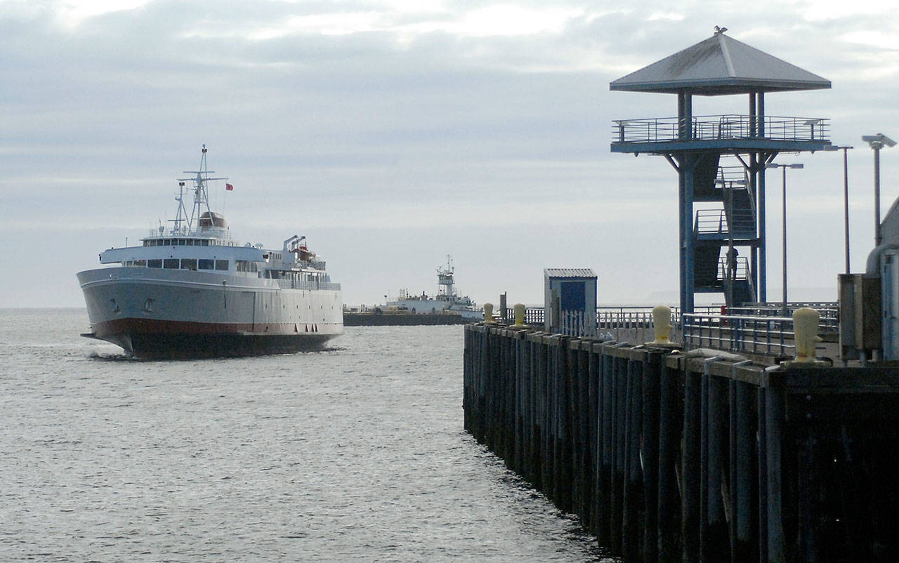 The MV Coho hasn't seen a recreational passenger in about 16 months, but has taken voyages every six weeks to remain seaworthy. (Keith Thorpe/Black Press Media)