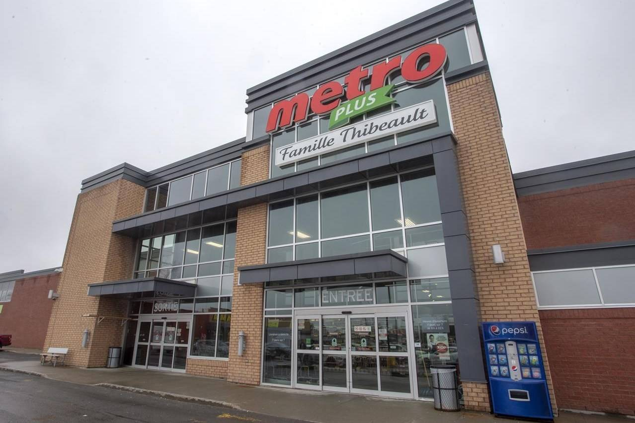 A Metro store is seen on April 15, 2019 in Ste-Therese, Que., north of Montreal. THE CANADIAN PRESS/Ryan Remiorz