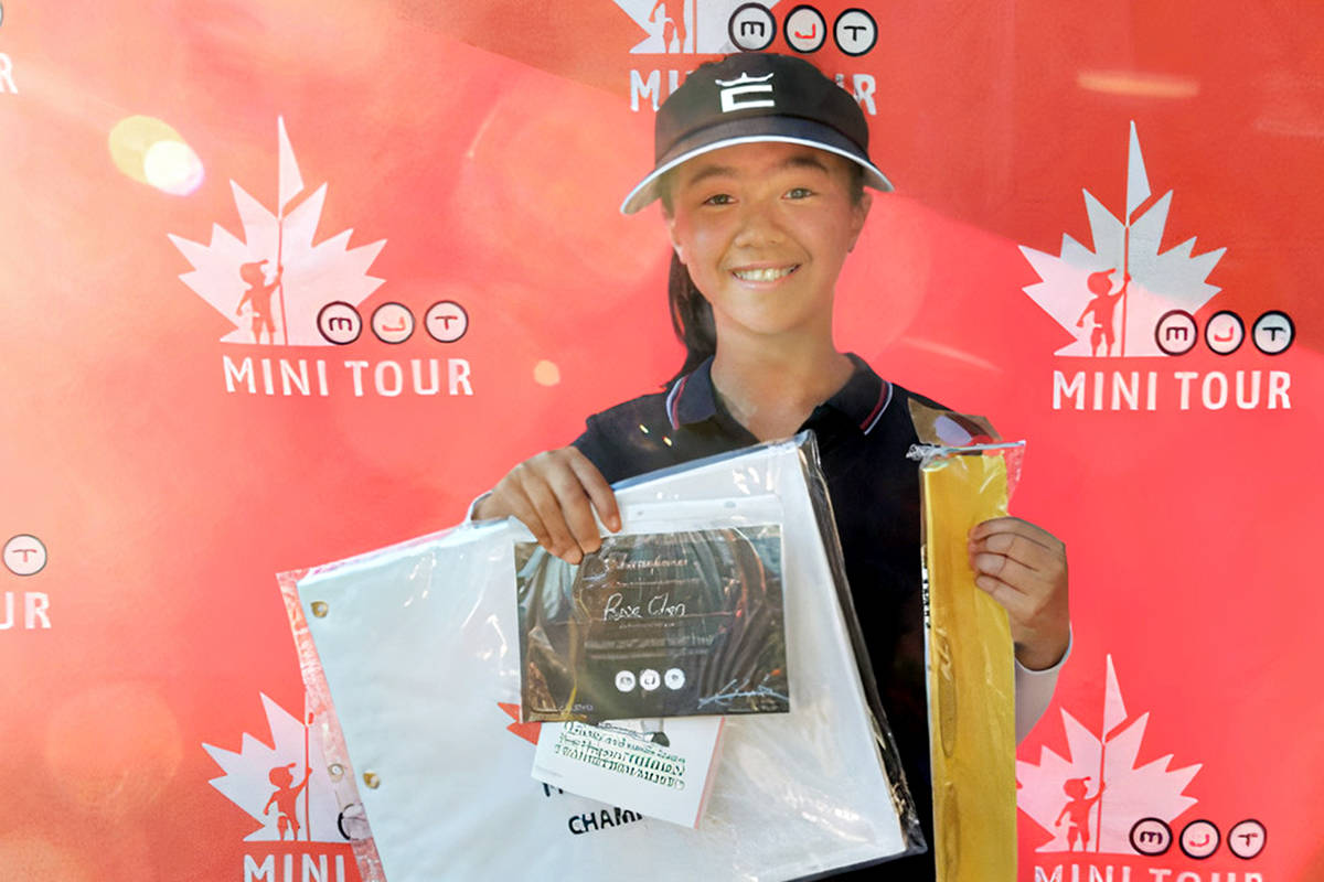 Langley's Rose Chen won the MJT Harry White Little Masters Girls 11-12 title at the 55th annual MJT Harry White Little Masters (file)