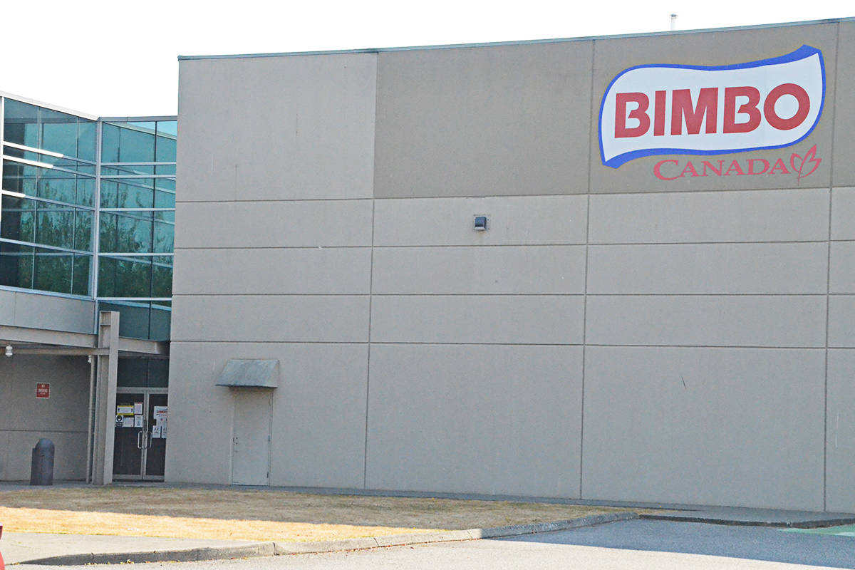Langley's Bimbo Canada has bread facilities on 64th Avenue and on the Langley Bypass. (Matthew Claxton/Langley Advance Times)