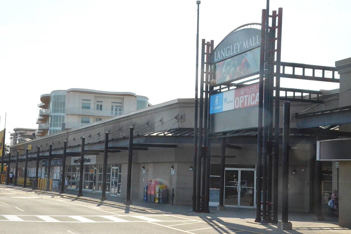 The Langley Mall. (Matthew Claxton/Langley Advance Times)